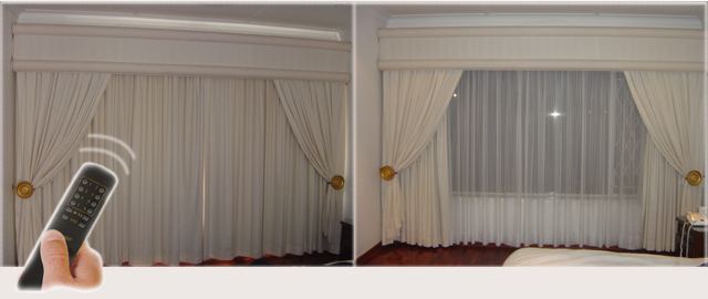 Remotorail Electric Curtain System